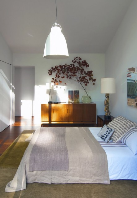 Texas Hill House Bedroom eclectic