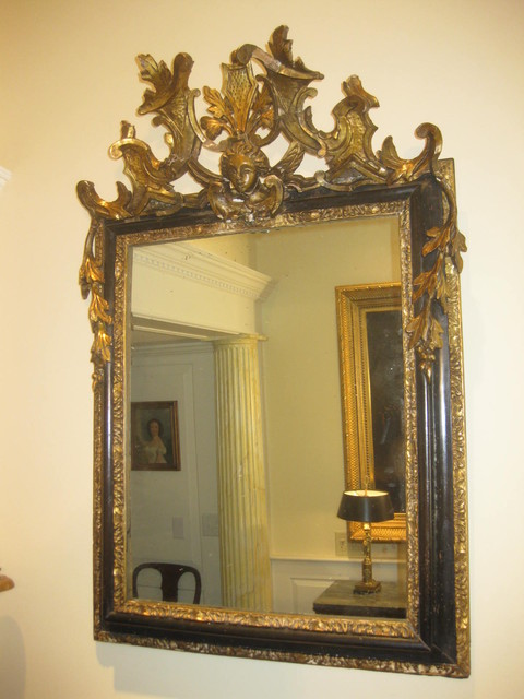 #6364-6 Italian Varnished Mirror  mirrors