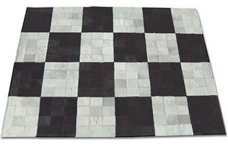 COWHIDE HAIRHIDE COW HIDE PATCHWORK RUG- CUSTOMIZE!! modern-rugs