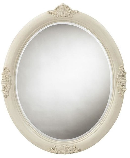 Winslow Oval Decorative Mirror Traditional Bathroom Mirrors By Home Decorators Collection
