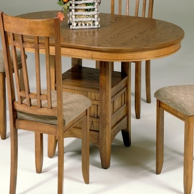 Liberty Furniture Santa Rosa Mission Oak Counter Height Table - Modern - Dining Tables - by ...