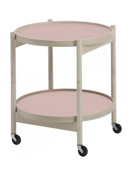Hans Bølling Beech Tray Table, Blossom Pink -