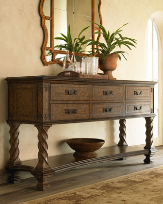 Ambella Monterey Console traditional buffets and sideboards