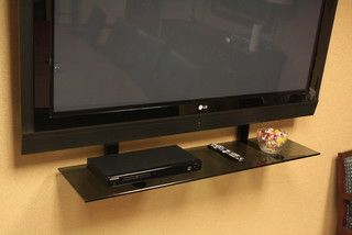Conference Room flat screen TV - Contemporary - Home Electronics - new york - by TV Smart Shelf