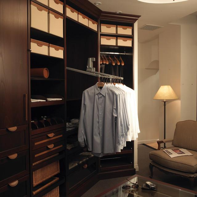 The Dark Mahogany Closet