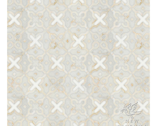 Stone Mosaic - Huelva mosaic pattern will cover any wall or floor in a wonderful allover pattern.