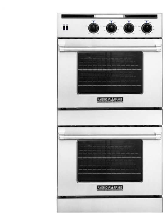 "American Range 30"" Hybrid Gas & Electric Wall Oven Stainless 