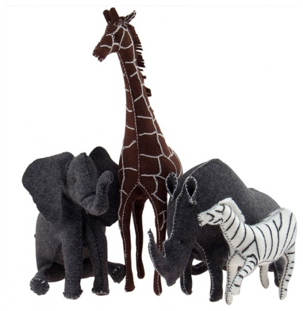 Organic Felt Animals eclectic-kids-toys-and-games