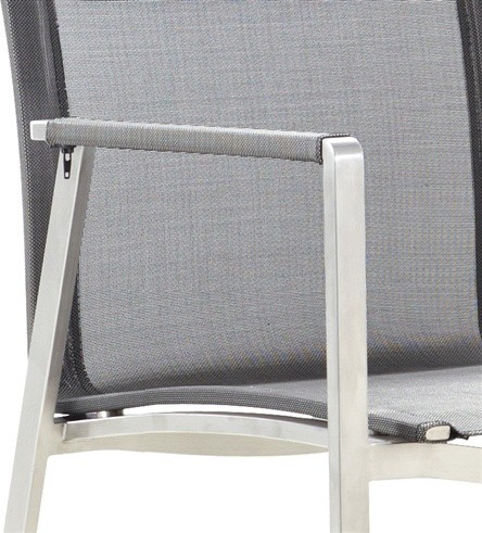 Beautiful Stainless Steel Chair for only $259 industrial