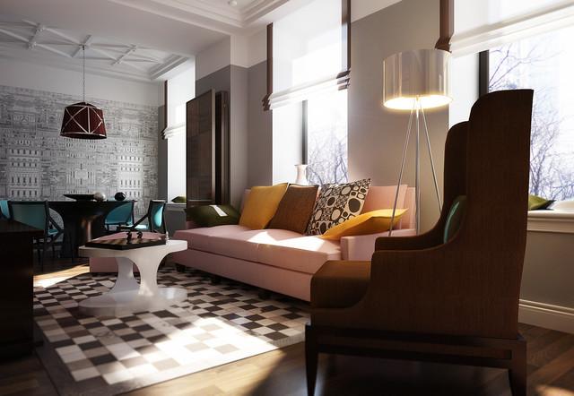 The Favorite contemporary-living-room