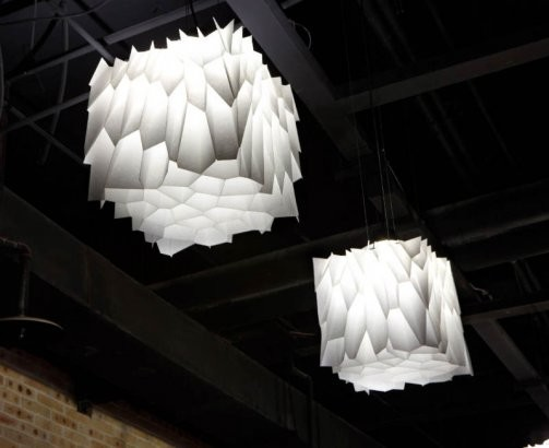 Voronoi Honeycomb Lighting eclectic-pendant-lighting
