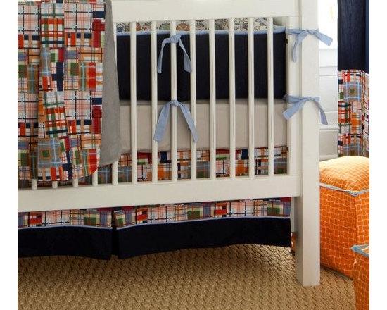 Coastal Crib Skirt -