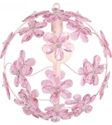 Pink Chloe Chandelier contemporary-kids-lighting