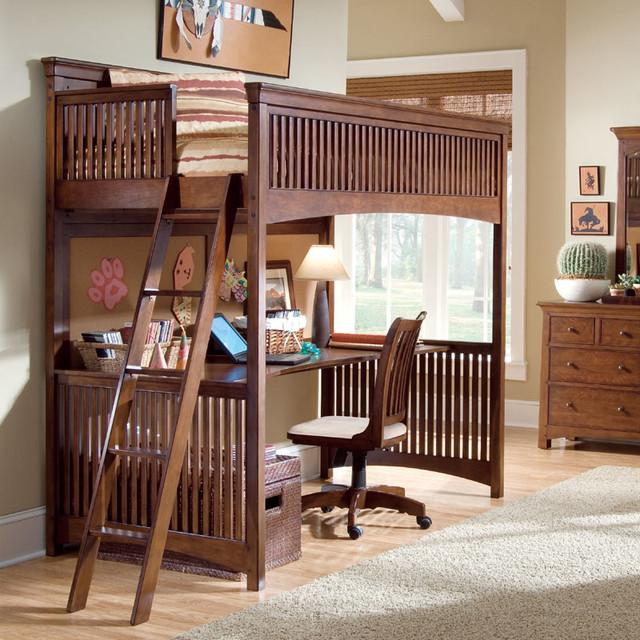 Elite Crossover Loft Bed modern-kids-beds
