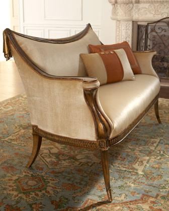 """Belina"" Settee traditional-sofas"