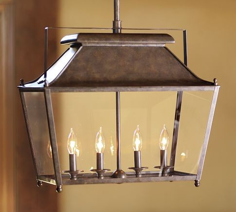Stanyan Lantern traditional pendant lighting