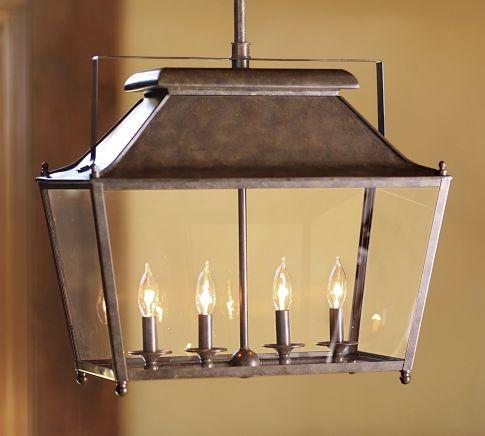 Stanyan Lantern - Transitional - Pendant Lighting - by Pottery Barn