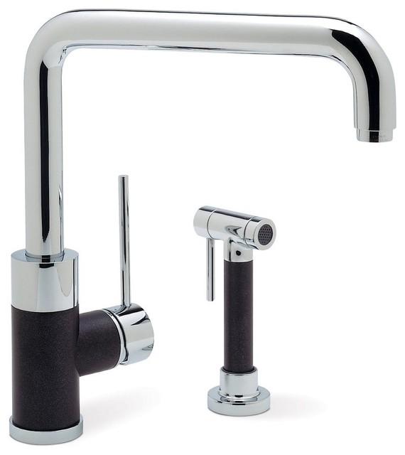 blanco blancopurus i single handle kitchen faucet modern