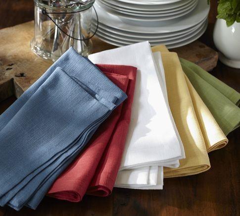Dishcloth Napkins traditional-napkins