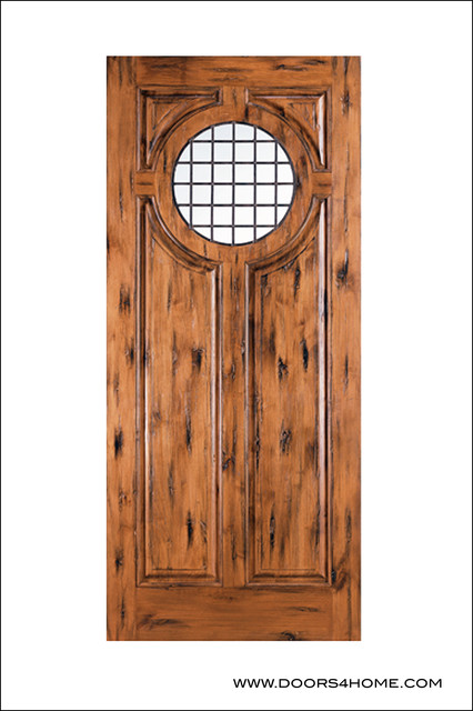 Old World Entry Doors Model 154 Salta Eclectic Front