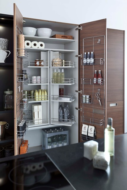 Kitchen storage leicht collection 2015 modern pantry for Modern kitchen pantry