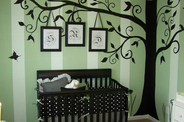 Large Whimsical Tree Decal Modern Wall Decals