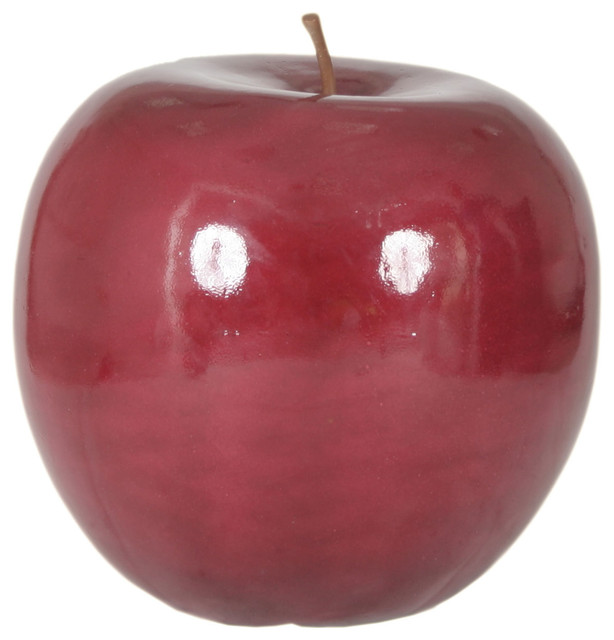 Apple large red modern decorative objects and for Modern decorative objects