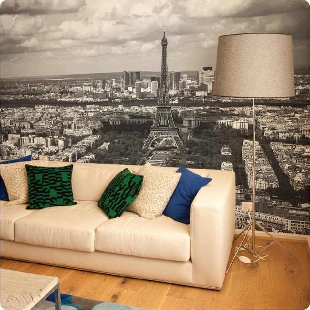 paris removable wall mural contemporary wall decals by the wall