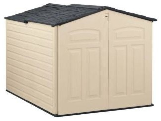 in. Slide-Lid Shed 1800005 - Contemporary - Sheds - by Home Depot