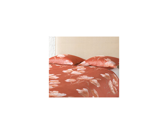 St. Germain Duvet Cover - Evocative of the bustling Latin Quarter, St. Germain was inspired by the bountiful anemones and vibrant sprays of color found in Paris' famed flower markets. The elegant and simple floral motif will transform your bed into your own chic Parisian retreat.
