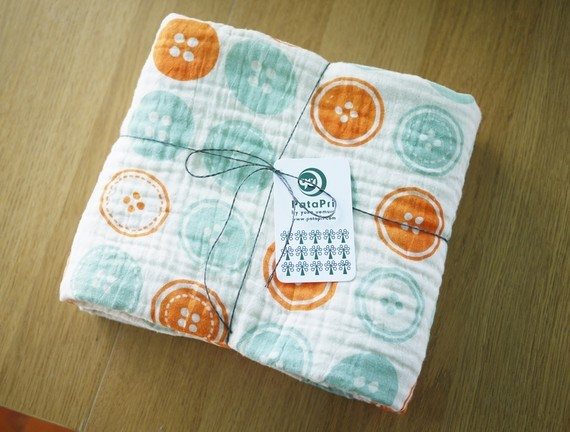 baby blanket buttons by PataPri on Etsy contemporary-baby-bedding