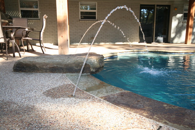 Pool deck jets dallas by pulliam pools for Garden shed 3x5