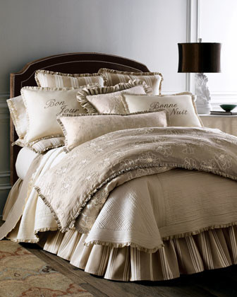 French Laundry Home Queen Dust Skirt traditional-bedskirts