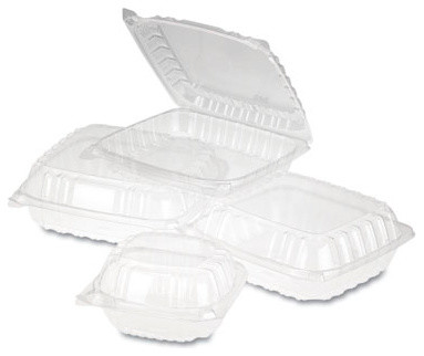 Cleararseal Plastic H/L Center Medium Clear 2/125 modern-food-containers-and-storage