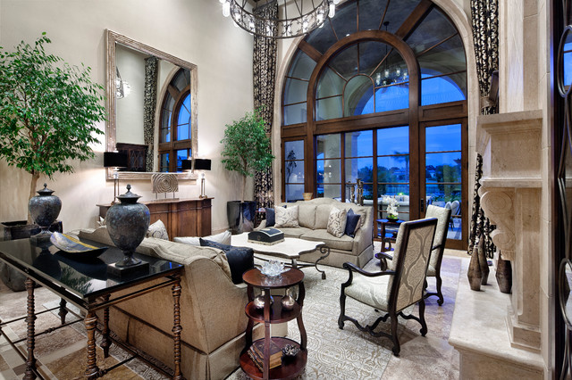 Dallas/Ft Worth traditional-living-room