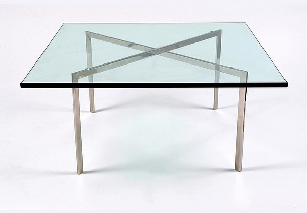 mies van der rohe exhibition table pavillion table. Black Bedroom Furniture Sets. Home Design Ideas