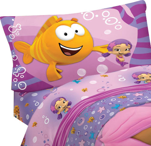 Bubble Guppies Fun 3 Piece Twin Single Bed Sheet Set
