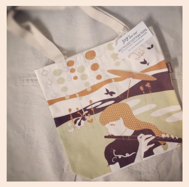 Joy By Mel Lim Brown Tote modern-kids-products