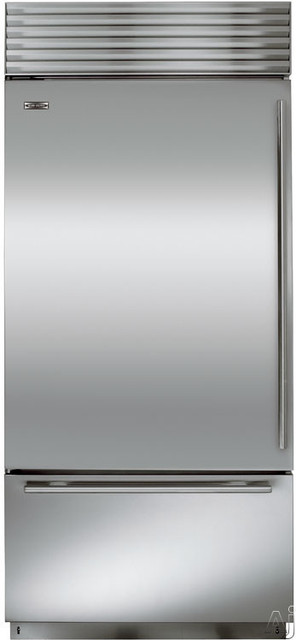 Sub Zero Bi30u Built In Bottom Freezer Refrigerator