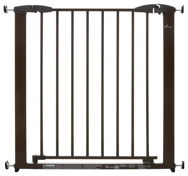 Brighton Pressure Mounted Gate traditional-baby-gates-and-child-safety