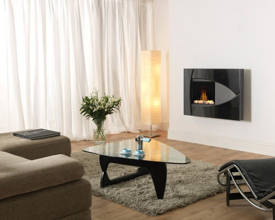 Dimplex Brayden surface-mounted Optimyst fireplace - Jeanne Grier/Stylish Fireplaces & Interiors
