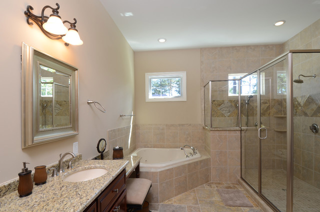 Creek Harbor contemporary bathroom