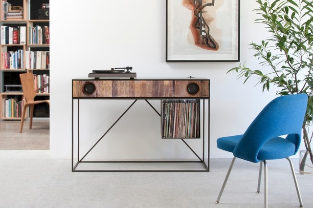 Symbol Audio Stereo Console - Contemporary - Console Tables - los angeles - by Environment Furniture