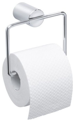 DUO Hanging Toilet Paper Holder modern-toilet-accessories