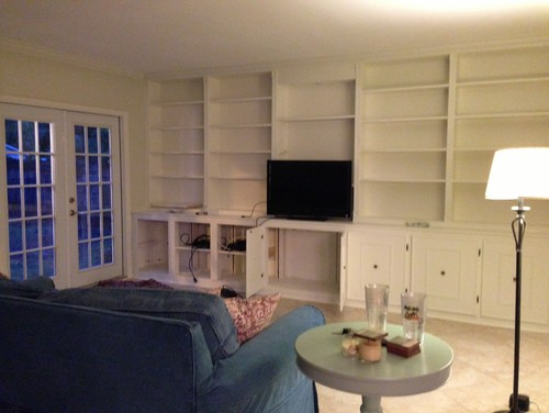 Arranging Furniture In A Long Living Room With 2 Focal Walls