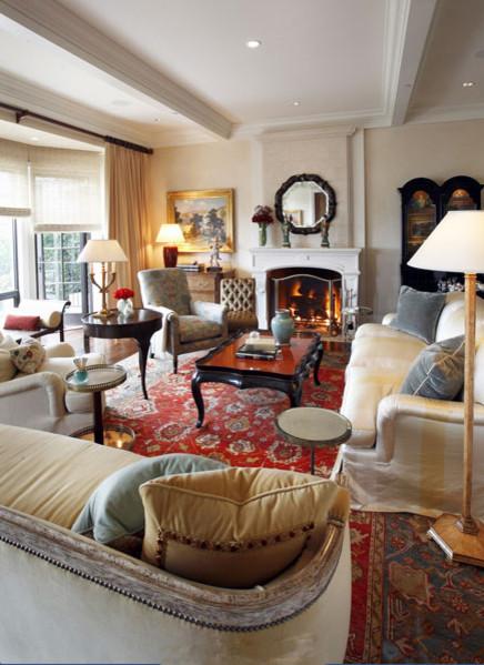 private residence, corona del mar, california traditional-living-room