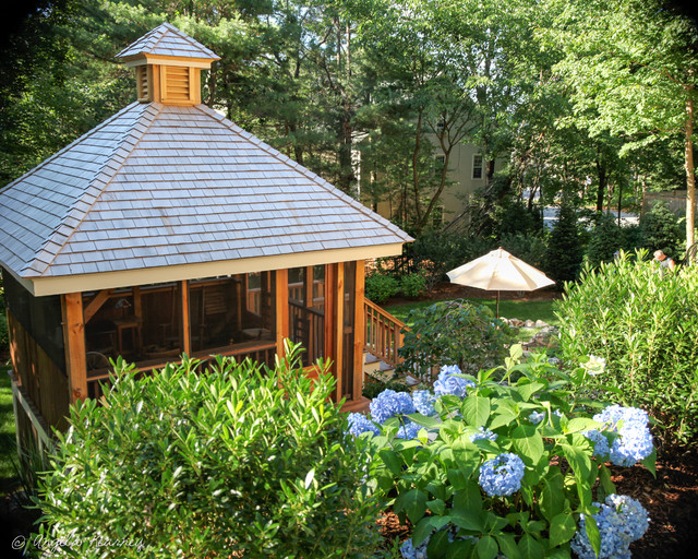 Hillside Garden With Gazebo Amp Terraced Patios