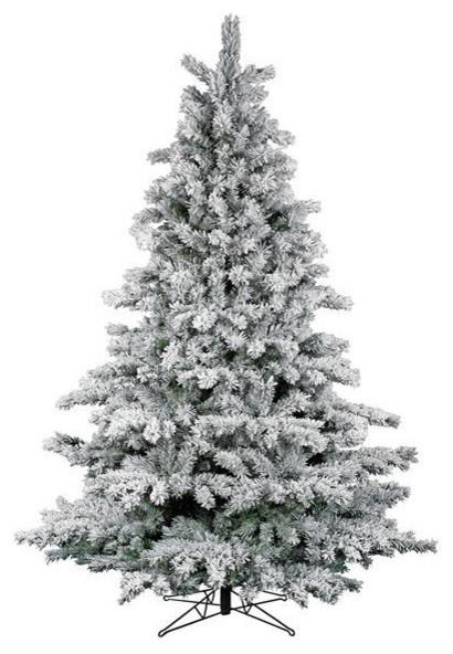 Flocked Aspen Christmas Tree Traditional