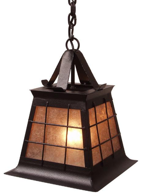 Pendant topridge small rustic pendant lighting by for Houzz rustic lighting