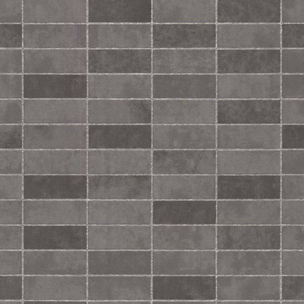 Hunter Slate Rectangle Tile Wallpaper Bolt Transitional